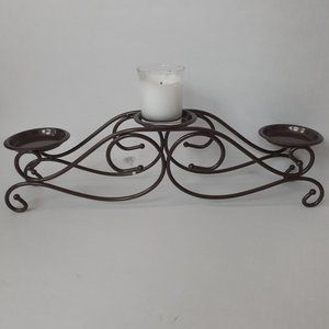 Princess House Metal Candle Holder – New
